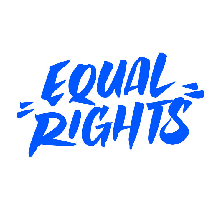 a free font for equal rights typograph her